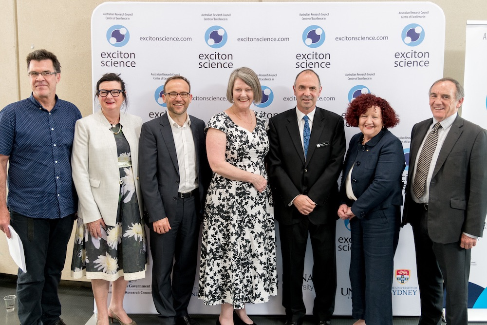 Prof Evan Bieske, Prof Karen Day, Mr Adam Bandt MP, Prof Sue Thomas, Prof Paul Mulvaney, Prof Margaret Sheil, Prof Jim McCluskey.