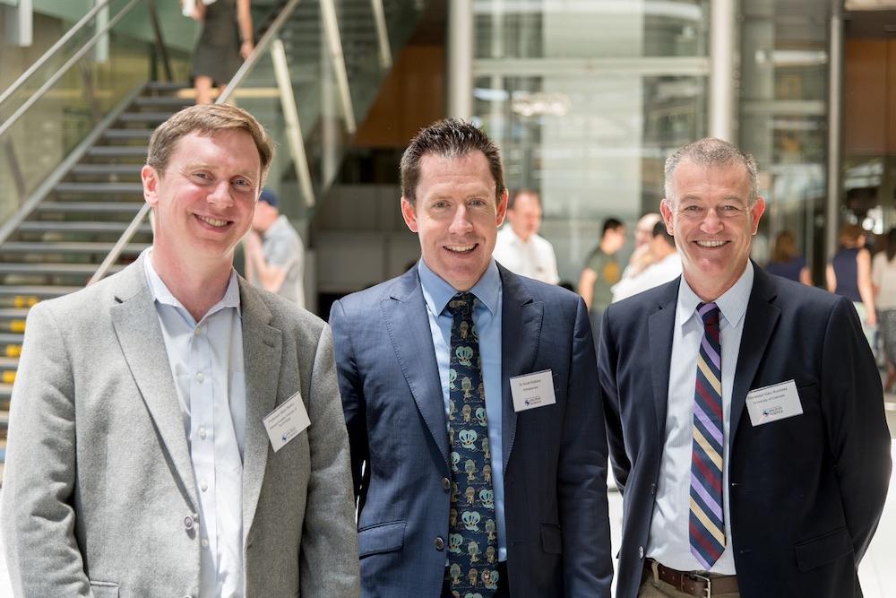 Prof Marc Baldo, Dr Scott Watkins, Prof Gary Rumbles