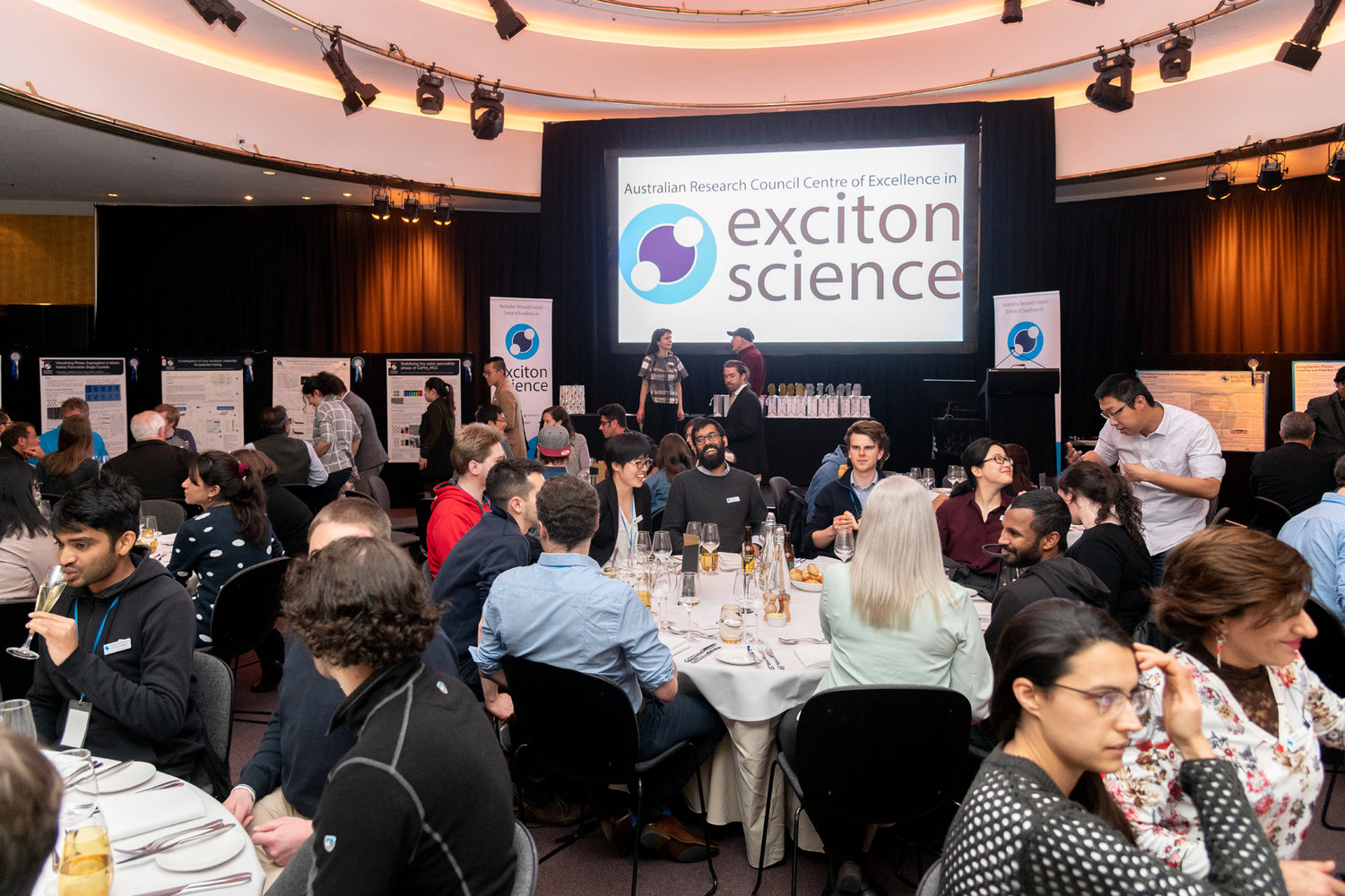Inaugural Exciton Science Quiz and Gala dinner