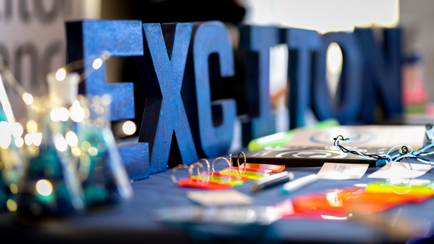 Exciton Science Block Letters