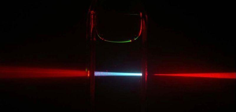 Banner Red Laser