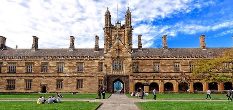 Banner Sydney Uni Main Quadrangle