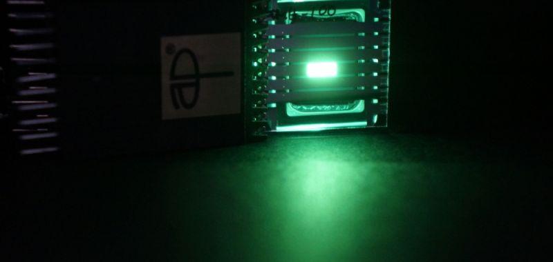 Banner Green LED