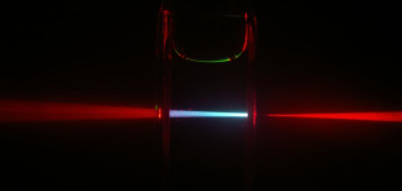 Hybrid upconversion light stream