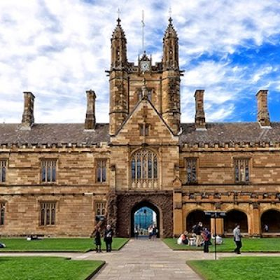 Banner Sydney Uni Main Quadrangle